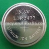 Li-ion button cells LIR2477 used for digital timer/toys