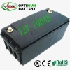Li-ion solar battery 12v 100ah