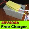 LiFePO4 48V 40Ah Lithum Li-ion Battery