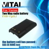 Long Life 2000mAh Yaesu FNB-V96 LI Ni-Ion Walkie Talkie Rechargeable Battery