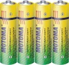 MOTOMA R6,size AA carbon zinc battery