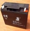 Maintenance free power battery 12v17ah