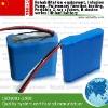 Medical ECG battery 14.8v 4400mah