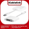 Mini displayport to DVI Adapter Cable for Apple Macbook