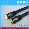 Molded Connector Flat Shape HDMI cable