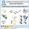 Molex 106123-3400 Fiber Optic Connectors LC QUAD AQUA MTL SN UA MTL SNAP SHUTTERS