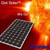 Mono solar module 165W/Mono solar panel/Mono solar module