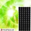 Monocrystalline 170w solar panel with TUV& 25 years INSURANCE
