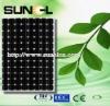 Monocrystalline 250W solar panels/model high efficiency for solar system