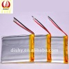 Multifunction 3.7V650mAh rechargeable lithium Polymer battery