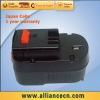 NI-MH 2.0AH Cordless Drill Battery for BLACK & DECKER A12,FS120B
