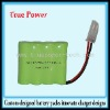 Ni-MH Battery Pack AAA 500mah 4.8V