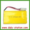 NiCd Rechargeable Battery Pack 9.6V AA 700mAh