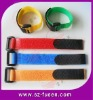 Nylon cable tie with plastic buckle