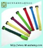 Nylon self-grip velcro tie strap with buckle