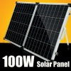 Outstanding 100W monocrystalline silicon solar panel installation