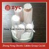 PE insulation cooper clad aluminum power cable