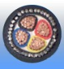 PVC insulated SWA PVC sheath electric cable with copper conductor