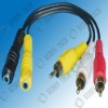 PVC insulated audio vedio cable