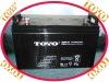 Panasonic gel type deep cycle  battery12v100ah for solar system(panasonic model)