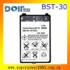 Phone battery BST-30 for mobile K300  800mah