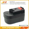 Power Drill battery for Black & Decker 499936-34 HPB14