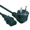 Power cord for household appliances european type