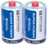 R20 Dry Battery with pvc jacket, red cap