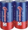R20 carbon zinc D size battery