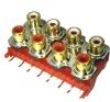RCA JACK SERIES , AV connector   (RCA-813P)