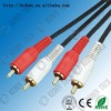 ROHS  PVC insulated audio vedio cable splitter