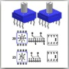 RS82H SERIES THRU-HOLE ROTARY SELECTOR SWITCH