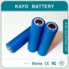 Rechargeable 18650 Li-ion battery 3.6V 2000mAh