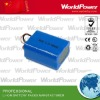 Rechargeable 3S2P li-ion battery pack 11.1V 4400mAh
