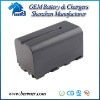 Rechargeable Digital Camera Battery for Sony NP-F750/F770/F730