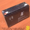 Rechargeable storage VRLA battery 6v12ah