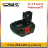 Replacement BOSCH Cordless Drill Battery Fit for: BOSCH 3360, 3455, 22612, 23612