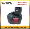 Replacement BOSCH Cordless Drill Battery Fit for:Fit for:23609, 32609, 32609-RT, GSR 9.6, (New, Version)