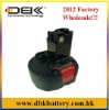 Replacement BOSCH Cordless Drill Battery Fit for:GSR7.2-1/GSR7.2-1/GSR7.2-2