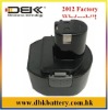 Replacement PASLODE Cordless Drill Battery Fit for:PASLODE CTH962K, HP961, RY961