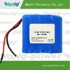 Replacement li-ion rechargeable battery with 14.8V 4400mAh