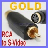 S-Video Adapter Video camera RCA Data Converter