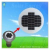 SBG 4W round solar panel for garden lights