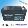 SLA rechargeable battery 12v 7ah
