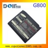 Sam G800 battery high capacity 1000mah