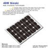 Sinski 40W Solar Panel/Mono solar module/Mono solar pane