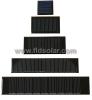 Small Monocrystalline PV Solar panel with Epoxy Resin