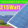 Solar 215W Poly photovoltaic panel for home use