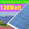 Solar panel poly 130W for CE certificate