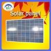 Solar street lamp for solar panel